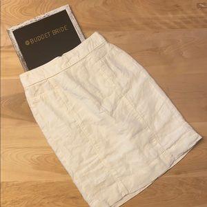 2/$15 Banana republic linen cotton skirt